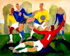 Futebol, s/d.    Mário Zanini ( Brasil, 1907-1971)