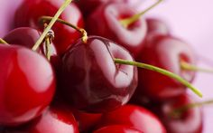 Wallpaper 1920x1200 pe, juicy, berry, beautiful, macro, red, cherry Background Download Widescreen Picture, Image WallpapeprsCraft