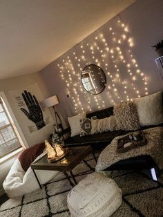 33 Wonderful Diy First Apartment Decorating Ideas. If you are looking for Diy First Apartment Decorating Ideas, You come to the right place. Here are the Diy First Apartment Decorating Ideas. Small Apartment Living, 1st Apartment, Cozy Apartment, Living Room Decor Ideas Apartment, Living Room Decor On A Budget, College Apartment Decorations, Cute Apartment Decor, Apartment Lighting, Cool Living Room Ideas