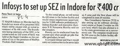 Super Corridor Indore News & Latest Updates