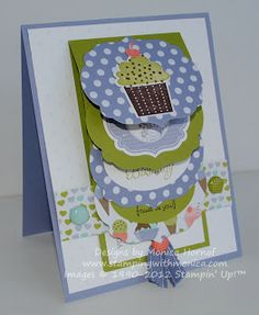 Stamps 'n Jewels: Waterfall Card and Tutorial