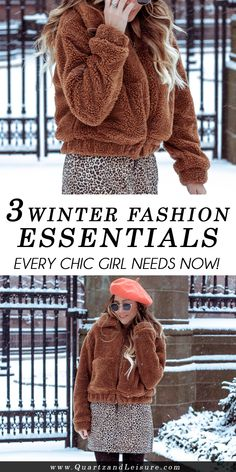 3 Winter Fashion Ess