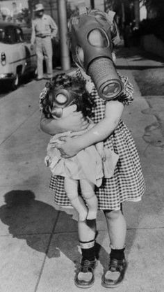 Gas Mask Dolly