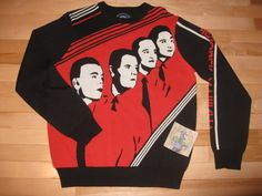 Kraftwerk sweater... now is the time on Sprockets when we get cozy!