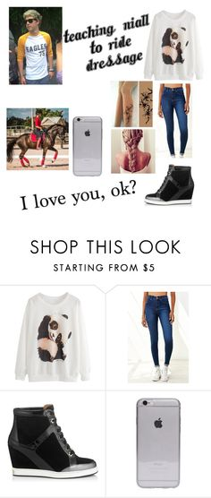 """1D outfit #111"" by niall-lover-2000 ❤ liked on Polyvore featuring Dr. Denim, Jimmy Choo and Gosh"
