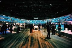 Sony's Booth. CES 2015