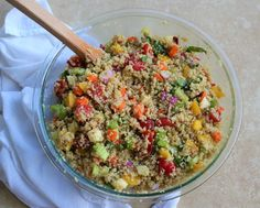 Quinoa Italian Pasta Salad, you're my Numero Uno pasta salad choice from here on out!