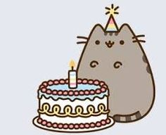 Birthday pusheen