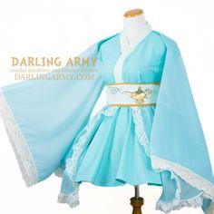 Desert Princess Cosplay Kimono Dress