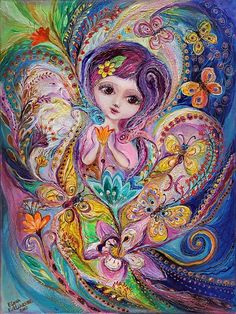 The Fairies Of Zodiac Series - Pisces Art Print by Elena Kotliarker. All prints are professionally printed, packaged, and shipped within 3 - 4 business days. Choose from multiple sizes and hundreds of frame and mat options. Fairy Paintings, Magical Paintings, Decoupage, Zodiac Art, Zodiac Signs, Pisces Zodiac, Thing 1, Canvas Prints, Art Prints