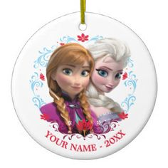 Custom Strong Bond, Strong Heart Personalized Frozen Ornament