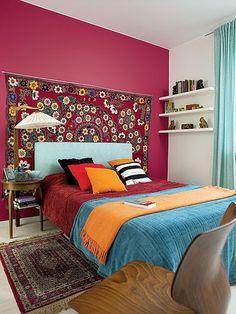 Jurnal de design interior - Amenajări interioare : Apartament vesel și colorat în Varșovia