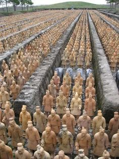 See the Terracotta Warriors at the tomb of the first emperor in China