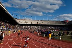 The Penn Relays The world's oldest relay meet, held annually at the University of Pennsylvania April 23-25, 2015 (Photo by D. Tavani) Visit Philadelphia, Philadelphia Sports, Love Park, Road Running, In 2015, Olympians, The Great Outdoors, Things To Do, Basketball