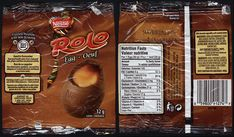 Canada - Nestle - Rolo Egg - candy package - Easter 2012 | Flickr Old Candy, Valeur Nutritive, Nutrition, Calories, Miniature Food, Candy Recipes, Easter Eggs, Canada, Sweets