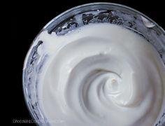 Aquafaba recipes via The Vegan Society. Here, marshmallow creme from chocolatecoveredkatie.com