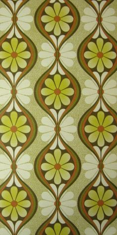 vintage wallpaper-love this