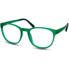The Tagus by Eco in Dark Green. Available with plain or prescription through Eco Eyes, 100% online.
