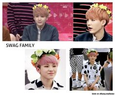 Lol, flowers are the new swag. Can someone tell me who the guy in the second photo is? He's adorable!