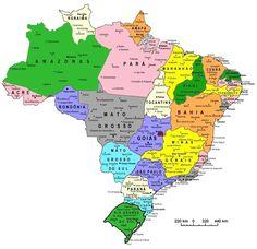 Divisão Política do Brasil