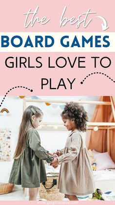 12 Fun Board Games Girls Aged 3-9 Love To Play by GinGin and Roo