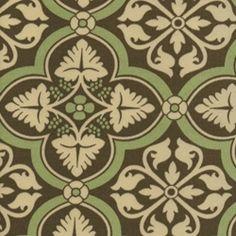Fair Fax Coffee Indoor/Outdoor Fabric by P Kaufman  ...Shades...