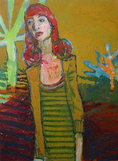 Meirion Alan Ginsberg - Girl And Tree 2