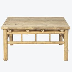 Jacarta lounge bord Dining Bench, Lounge, Table, Furniture, Home Decor, Bamboo, Airport Lounge, Drawing Rooms, Decoration Home