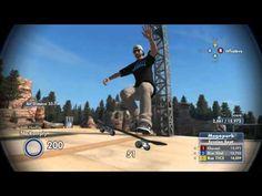 SKATE 3 - Realistic Players Trickline Ft Yoshii