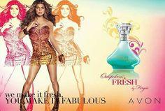 $15 AVON Outspoken Fresh by Fergie