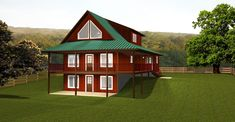 Plan plan has all your needs covered. If you have view from your property, then this plan with all the windows will allow a view from all three floors Basement Built Ins, Open Basement, Basement Windows, Basement Plans, Walkout Basement, Basement Remodeling, Basement Storage, Pole Barn House Plans, Pole Barn Homes