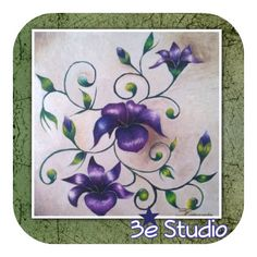 Shop now @ Shop3e.com for one of a kind artwork. #shop3e #thereal3estudio #tb #artwork #shopsmall #supportsmallbusiness #shoplocal #artist #artlife #artistry #arte #artista #handcrafted #flowers #flowerpainting #purpleflowers #beautifulart #beautiful #wallart #interiordesign #artforsale #tbt #thursdayvibes #thursday #nature #natureart