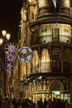 Christmas in Sevilla, Spain