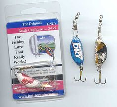 1000 images about fun at camp fishing on pinterest fish for Fishing lure kits make your own