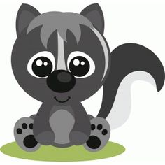 Silhouette Design Store: baby skunk