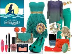 """""""the little mermaid 3"""" by haley-williams ❤ liked on Polyvore"""