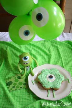 Monsters University Party ideas!!!