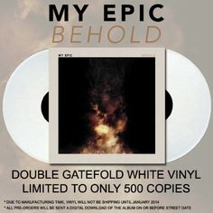 My Epic - Behold LP   Digital Download