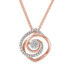 White and Rose Gold Diamond Pendant Pendant Set, Diamond Pendant, Diamond Necklaces, Rose Gold Pendant, Pearl Jewelry, Pendant Jewelry, Jewelry Necklaces, Men's Jewellery, Designer Jewellery