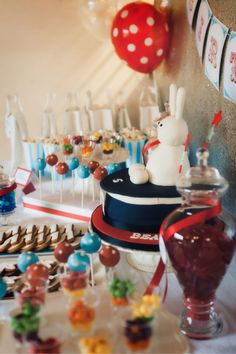 vintage magician magic party printables dessert table-05