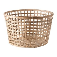 GADDIS Basket IKEA Each Basket Is Woven By Hand And Is Therefore Unique.  BIG One