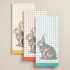 Hop into our Egg-Citing Easter collection and check out our Bunny Kitchen Towels from Cost Plus World Market. >> #WorldMarket #Easter #EasterStyleHuntSweeps Ad