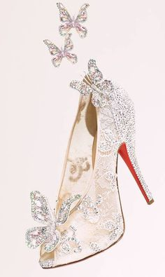 Christian Louboutin, Walt Disney Cinderella Shoe