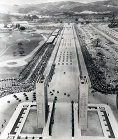 Paseo Los Ilustres 1956
