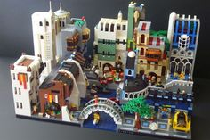 Lego Asian City
