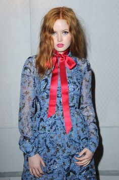 Ellie Bamber Photos Photos - Front Row & Arrivals: Day 4 - LFW February 2017 - Zimbio