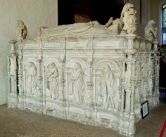 Thomas Howard, 3rd Duke of Norfolk, KG (1473 – 25 Aug 1554) husband of Anne of York, daughter of Edward IV, King of England. Buried in the aisle chancel of the Church of St Michael the Archangel, Framlingham, Suffolk.