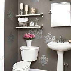 Home Decorating Projects & 29 best Restroom Decoration images on Pinterest | Restroom ...