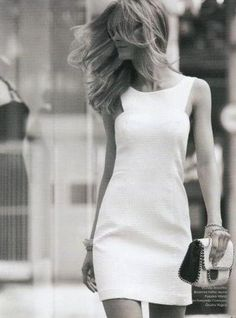 0123adb3cba every girl needs a classy white sheath dress