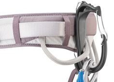 Suitable for mountaineering, multi-pitch and ice climbing, the universal Petzl Caritool Evo holder works with all types of climbing harnesses and accommodates ice screws and tools. Available at REI, Satisfaction Guaranteed. Stainless Steel Gate, Be Organized, Climbing Harness, Trekking Gear, Easy Clip, Ideal Tools, Ice Climbing, Mountaineering, Outdoor Outfit